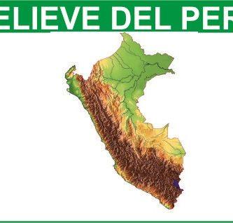 Tipos de relieve de Peru