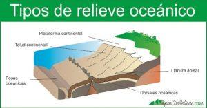 Tipos de relieve oceánico