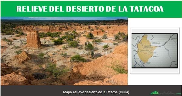 Relieve del desierto de la Tatacoa
