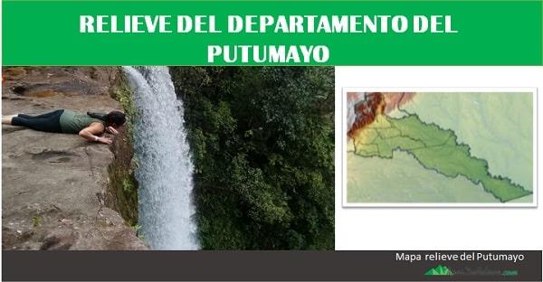 Relieve del Departamento del Putumayo