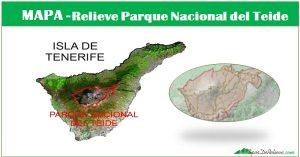 Parque Nacional del Teide, descripcion, ubicacion y relieve