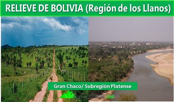 relieve de bolivia